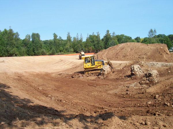Earthwork Construction Management : Services earthwork
